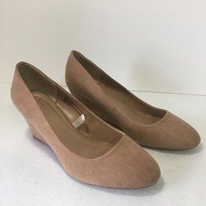 """New Women's 8.5W Pecan 2.75"""" Wedge Shoe A New Day"""